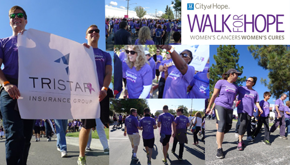 TRISTAR Employees Walk for Hope